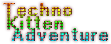 Techno Kitten Adventure Logo