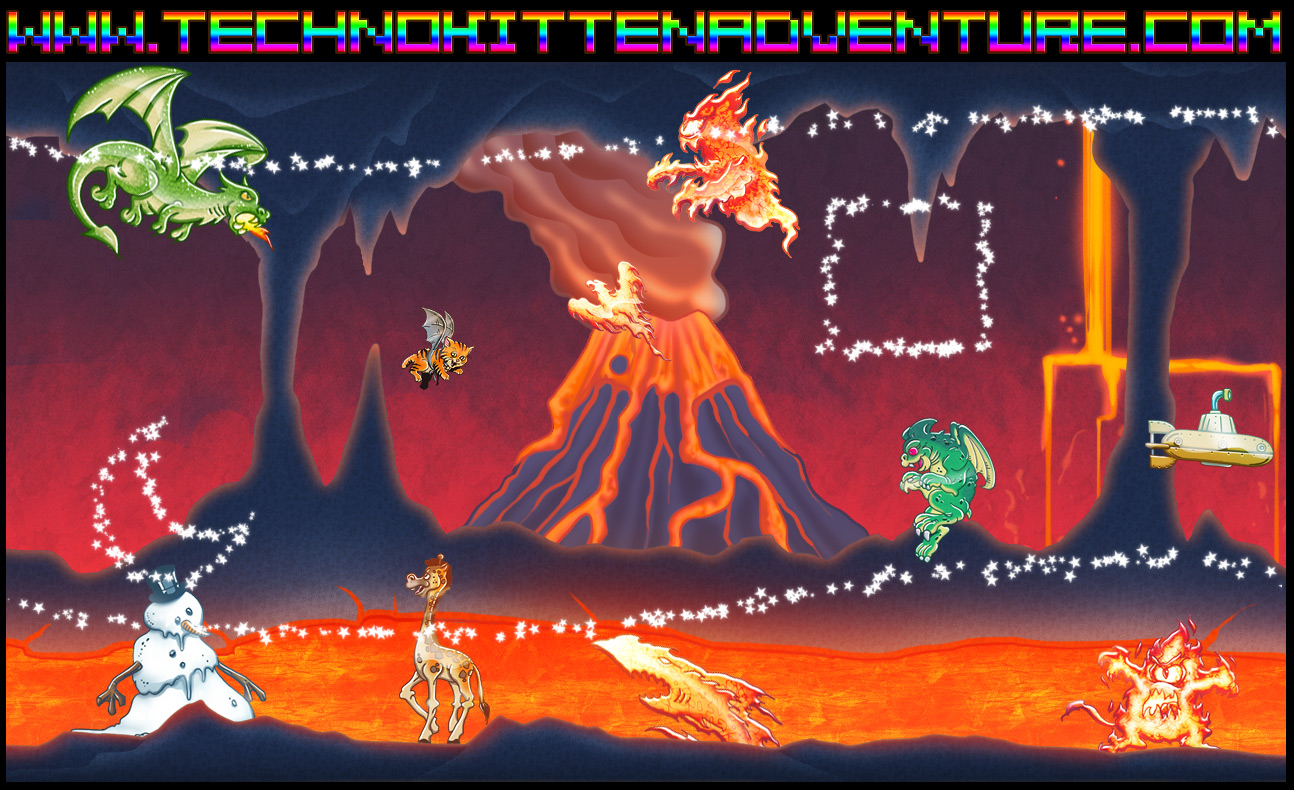 descargar techno kitten adventure pc